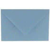 envelop rechthoekig 114x162mm - C6 lichtblauw (964) lijkt op ijsblauw 42