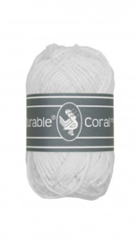 Haakkatoen 0310 Coral mini White