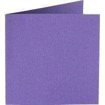 vierkante kaart (13,2 x 13,2 cm) paars (946) voorheen 46 paars