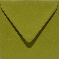 vierkante envelop (14 x 14 cm) mosgroen (951) voorheen 51 mosgroen