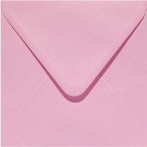vierkante envelop (14 x 14 cm) babyroze (959)