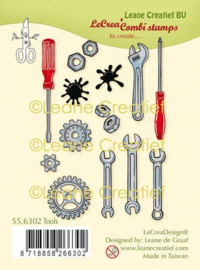Clear stamp Leane: Gereedschap 556302
