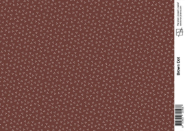 1436 brown dot