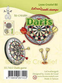 Clear stamp Darts 55.7422