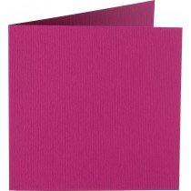 vierkante kaart (13,2 x 13,2 cm) purper (913) voorheen 13 purper