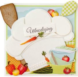Creatables stencil Vegetables LR0706