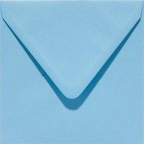 vierkante envelop (14 x 14 cm) celeste (942) vergelijkbaar met 42 ijsblauw