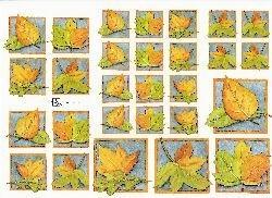 knipvel: herfstbladeren