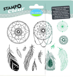 Clear stamp 04219 dromenvanger