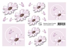 1641 lichtroze bloemetjes