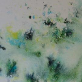Shimmer powder - green parade 1214N
