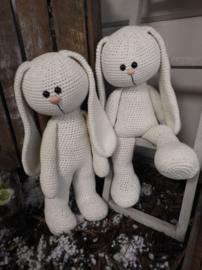 XXL Haakpakket Funny Bunny Basic ivoor (staand / zittend)