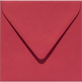 vierkante envelop (14 x 14 cm) cerise (933) voorheen 33 cerise