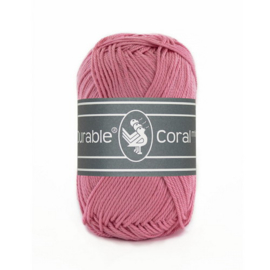 Haakkatoen 0228 Coral mini Raspberry