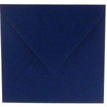 vierkante envelop (14 x 14 cm) marineblauw (969)