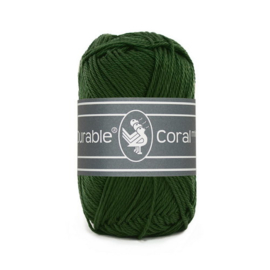 Haakkatoen 2150 Coral mini Forest green