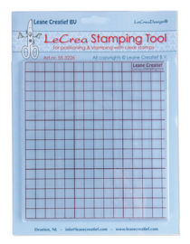 Leane's Stamping tool voor clear stamps