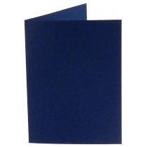 rechthoekige staande kaart (10,5 x 14,8 cm) marineblauw (969)