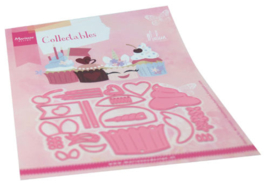 Collectables COL1481 Cupcakes by Marleen