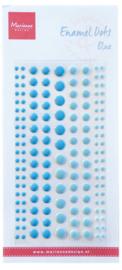 Enamel dots two blue PL4518