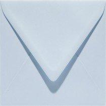 vierkante envelop (14 x 14 cm) babyblauw (956)