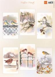 Knipvel Mattie's mooiste Slimline birds MB0196