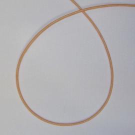 4 meter huidskleurig koord