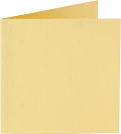 rechthoekige staande kaart (10,5 x 14,8 cm) narcisgeel (928) voorheen 28 narcisgeel