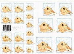 knipvel: vogelhuisjes