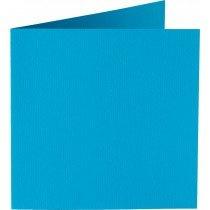 vierkante kaart (13,2 x 13,2 cm) hemelsblauw (949) voorheen 05 korenblauw