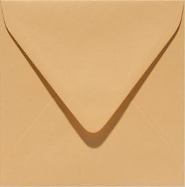 vierkante envelop (14 x 14 cm) caramel (926) voorheen 26 caramel