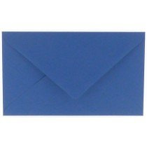 envelop rechthoekig 114x162mm - C6 royal blue (972)