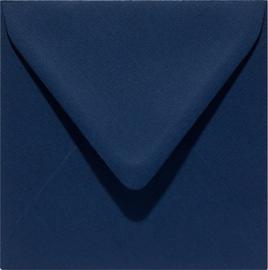 vierkante envelop (14 x 14 cm) nachtblauw (941) voorheen 41 nachtblauw