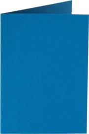 rechthoekige staande kaart (10,5 x 14,8 cm) donkerblauw (906) voorheen 06 donkerblauw
