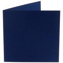 vierkante kaart (13,2 x 13,2 cm) marineblauw (969)