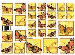 knipvel: vlinders
