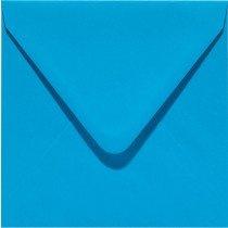 vierkante envelop (14 x 14 cm) hemelsblauw (949) voorheen 05 korenblauw