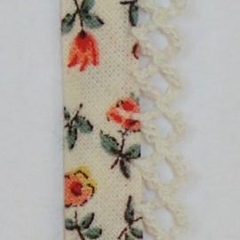 Biaisband creme bloemen (06)