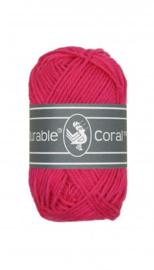 Haakkatoen 0236 Coral mini Fuchsia