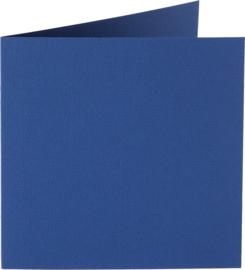 vierkante kaart (13,2 x 13,2 cm) irisblauw (931) voorheen 31 irisblauw