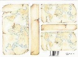 knipvel: landkaart