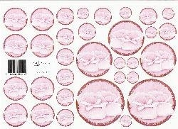 knipvel: cirkel 4: roze babyslofjes