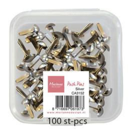 Push Pins Silver CA3152