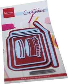 Creatables stencil Jar LR0725