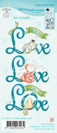 Clear stamp Leane: Love (554032)