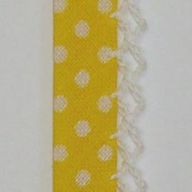 Biaisband gele stip (08)