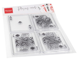 Clear stamp Playing cards CS1055