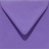 vierkante envelop (14 x 14 cm) paars (946) voorheen 46 paars