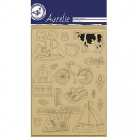 Clear stamp Aurelie (AUSC 1023) Hollandse stempels