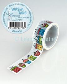 Washi tape Cadeautjes 20mm x 5m 61.7132